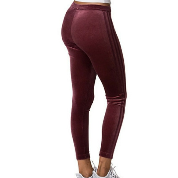 a6aeecda01789 adidas Pants | Final Sale Velvet Vibes Leggings | Poshmark